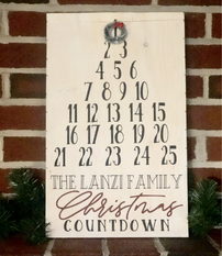 Personalized Countdown