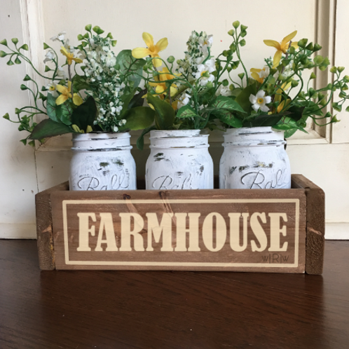 Farmhouse Flower Box