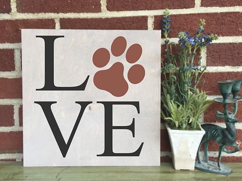 Love Pawprint