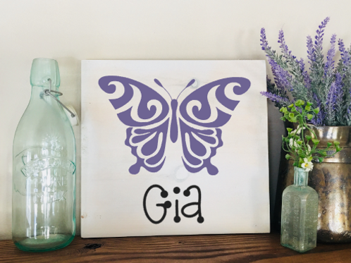 Butterfly Name 8x8
