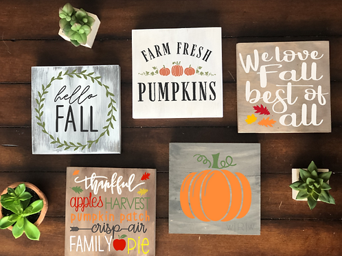Fall Mini Bundle