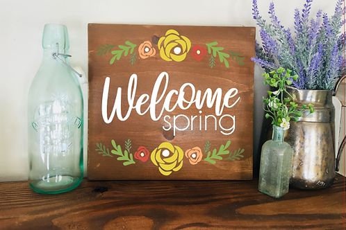Welcome Spring 10x10