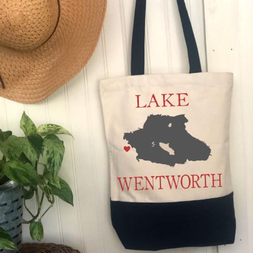 Lake Name DIY Canvas Bag