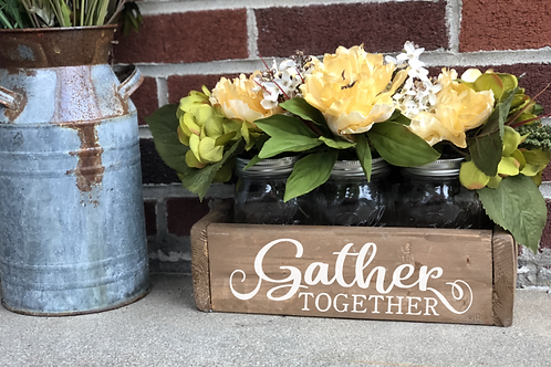 Gather Together Fall Flower Box