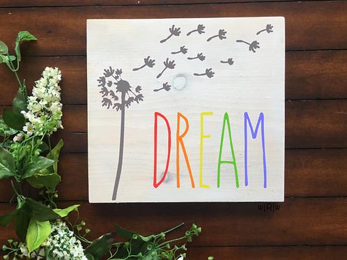 Dandelion Dream 10x10