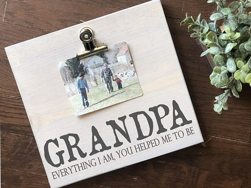 Father's Day Picture Holder 10x10