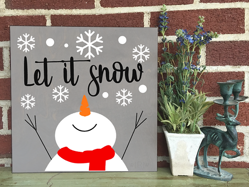 Let it Snow 10x10