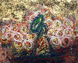 prova di colore per omaggio a Duccio