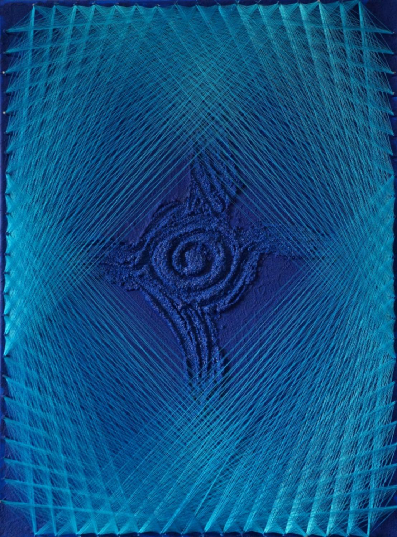 accesso con variazione di tono da blu a celeste