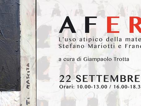 AFERETICI - L'uso atipico della materia nella pittura 'anarchica' di Stefano Mariotti e