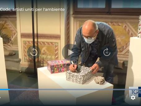 Rai TGR toscana arte - OpenArtCode T NZE Toward Net Zero Emissions - Stefano Mariotti