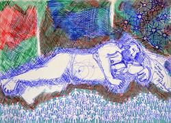 il sogno dell'artista ciccione