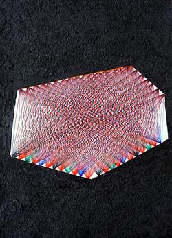 Elemento asimmetrico su superficie m