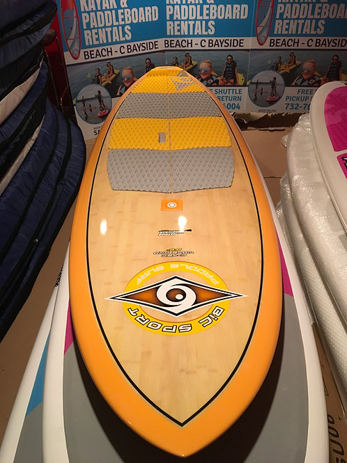 "8'6"" x 28"" bic sport C-Tec Wave Pro carbon stand up paddle board"