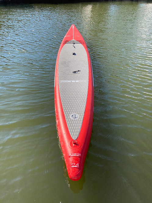 """17'4 SIC Maui BULLET AIR GLIDE x 26.6"""" Stand up paddle board Inflatable SUP"""