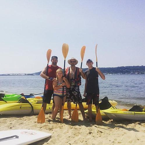 BIC SPORT KALAO - Triple kayak w/Paddle
