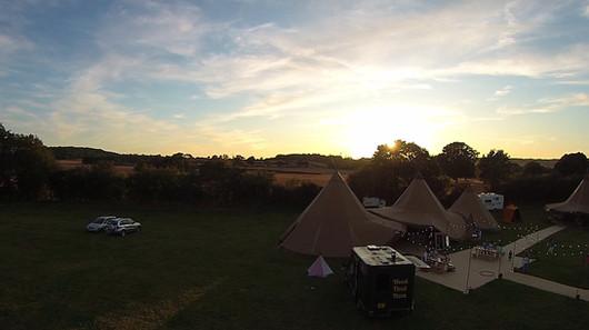The Sun Setting at Hawbridge Farm.mp4