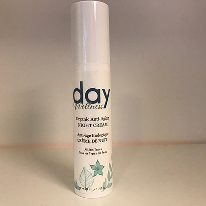 Day Wellness Organic Anti-Aging Night Cream