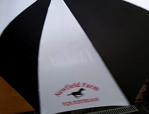 New #umbrellas for Newfield Farm Equestrian. Check out our #printed #umbrellas. Order yours today.jp