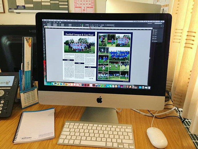 The July 2017 Toplink magazine currently in the design process for Cheshire Young Farmers 🐮 #toplin