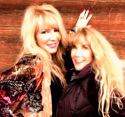 Dynamo Duo..... Me and Barbie Benton....
