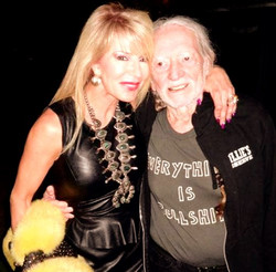 Me and the one and only WILLIE NELSON!