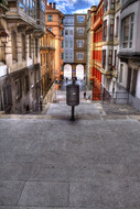 Stairway alley