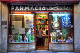Coulorful pharmacy