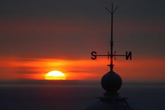 Sunset at Mera Lighthouse