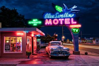 Get Your Kikcs On Route 66  Song by Nat King Cole  Photo by Jim Nix / Flickr