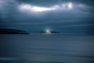 Twilight at Sisarga Island (taken from Baldaio Beach)