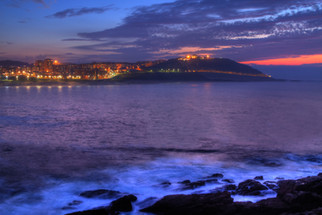 Twilight at A Coruña
