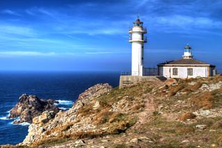 Lighthouse at Cape Touriñán
