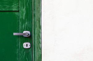 ...Don't know what they're doing but they laugh a lot behind the green door, wish they'd let me in so I could find out what's behind the green door...  From The Song The Green Door by Jim Lowe  Photo by Pawel Czerwinski / Unsplash