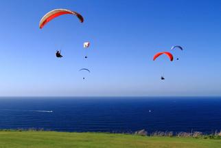 Paragliding fun