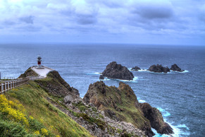 The Cape Ortegal in a Cloudy day
