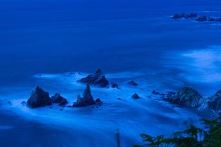 Twilight at O Picon Cliffs