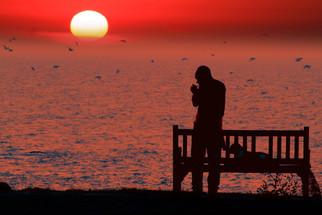 Intropesctive sunset