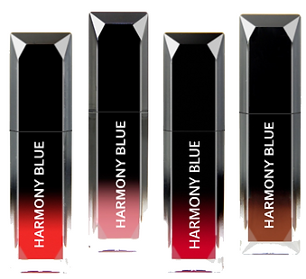 Lacquer Lip Cream in 4 color variations