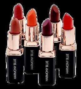 Six Color Lipstick Lineup