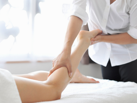 Massage produces a cocktail of feel good hormones