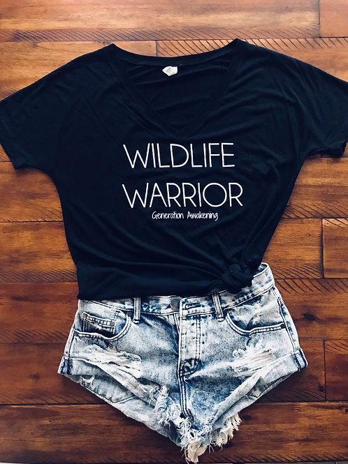 Wildlife Warrior T-Shirt - Black