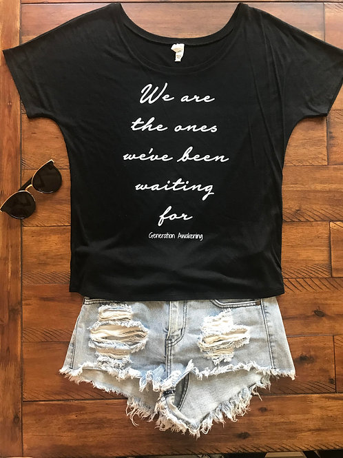 We Are the Ones Tee - Black
