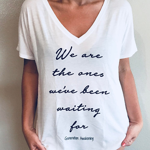 We Are the Ones Tee - White