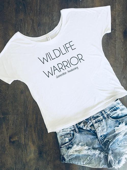Wildlife Warrior Tee - White