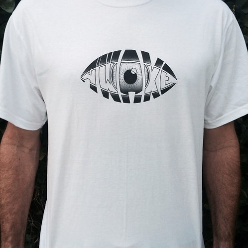 Men's AWAKE T Shirt (White)