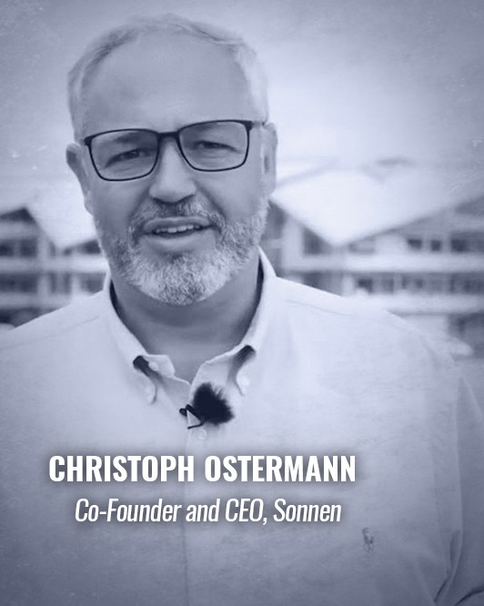 CHRISTOPH OSTERMANN — Co-Founder and CEO, Sonnen