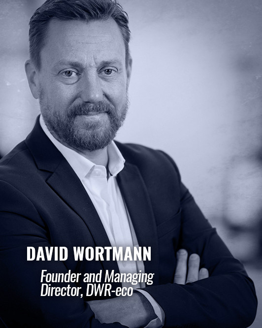 DAVID WORTMANN — Founder and Managing Director, DWR-eco