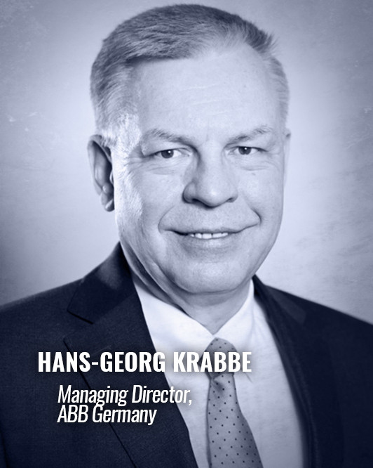 HANS-GEORG KRABBE — Managing Director, ABB Germany