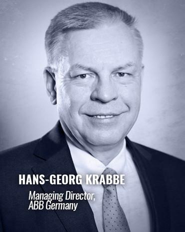 HANS-GEORG KRABBE — Managing Director, ABB Germany